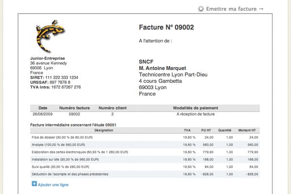modele facture pdf