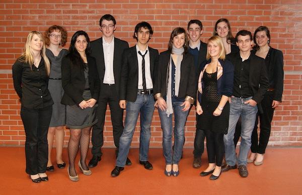 Equipe Europe-Etudes 2010/2011