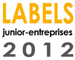 Les Junior Entreprises finalistes des labels 2012 Junior Entreprise