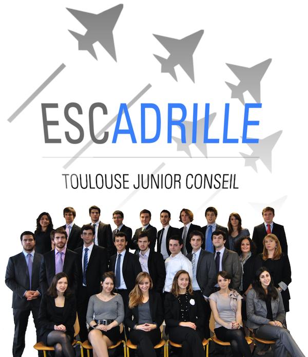 Equipe 2010 2011 Junior Entreprise ESCadrille Toulouse Junior Conseil