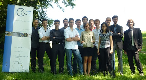 Equipe Junior-Entreprise Centrale Nantes Etudes